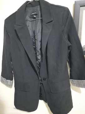 blazer hitam second