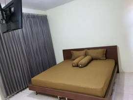 Kamar kost pria sisa 2.kamar luas (20m2). ranjang 200x200.ac.airpanas