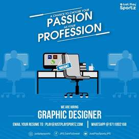 Reqd. Graphic Designer for Social Media Promotion Company