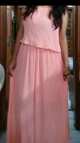 Branded long Dress