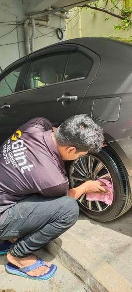 Car wash morning Part time for medavakkam
