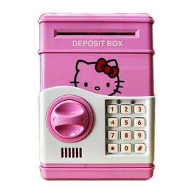 ATM Toy Money Deposit Box With Electronic Lock