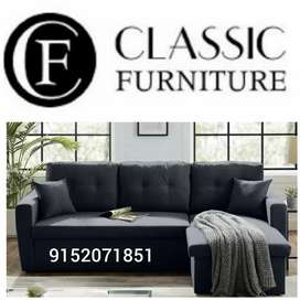 Brand new classic l shape sofa cumbed factory price#177