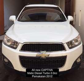 Chevrolet Captiva Matic solar 2.0cc,bisa tt pajero,fortuner,xtrail,crv