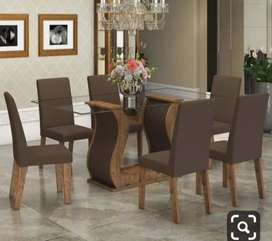 Luxury Dining table set 6 seater with 5 years of warranty