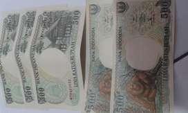 Uang 500 seri orang utan