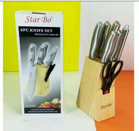 Star Bo Stainless steel knife Set 8 pcs