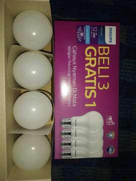 Promo BELI 3 GRATIS 1.  Lampu Philips LED My Care 12 Watt..