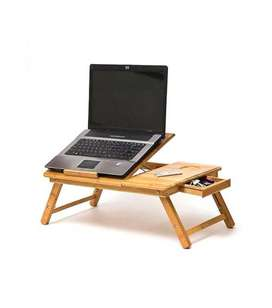 Foldable Wooden Laptop Table Cum Study Table