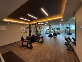 2040 sq feet Fully Furnished 3 bed flat Pumkunnam Thrissur