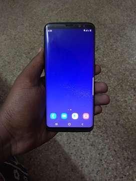 Samsung s8 black 64gb 4gb ram back glass cracked