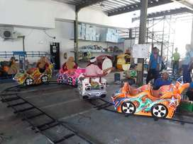 AGM gabus lukis mini coaster kereta rel odong murah