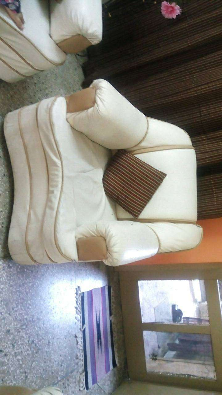 Off white leather sofas for sale. 0