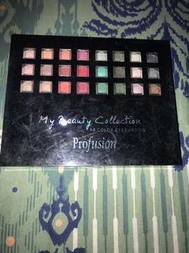 Profusion 96 colors eyeshadows pallette. Very pigmented shades