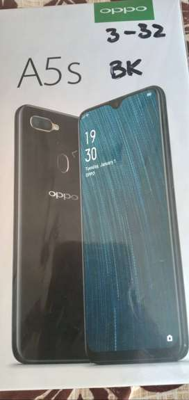 Oppo new phone h 3 gb 32 a5s