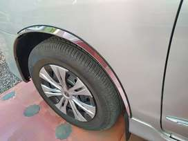 Wheel arch chrome for Innova