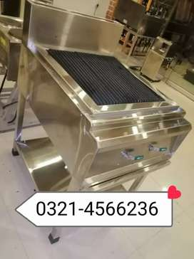 Chicken gas grill new style