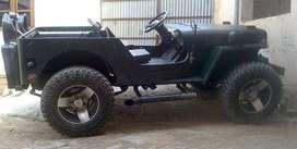 Open jeep stylish look