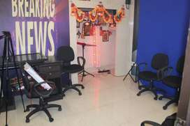 Fully furnished Studio for audio and video recording available