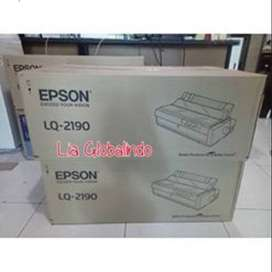Grey Ok Epson Lq2190 Printer Dot Matrix