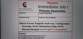 Mysore Process Associate