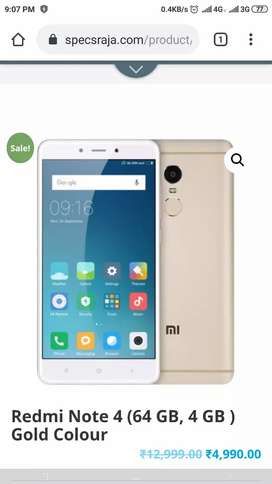 Mi note 4 mobile  2 years old