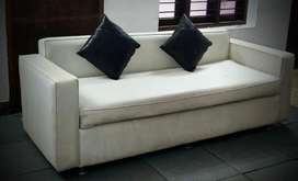 Sofa 4 seat with 2 pillows available