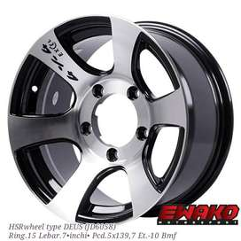 Deus R15 - Velg Mobil Racing Hsr Wheel Import (free ongkir)