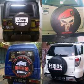 Cover/Sarung Ban Suzuki Jimny/Rush/Terios/Everest/jeep Indo Punya  Mob
