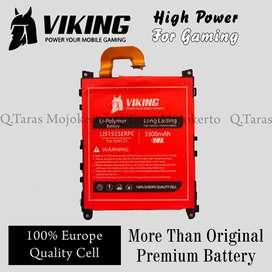 Baterai Double Power Sony Xperia Original Viking