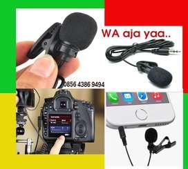 Microphone Mik untuk semua perangkat port 3.5mm. Orderin GoJek Bisa