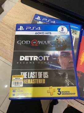BD Detroit Become Human & God of War 4