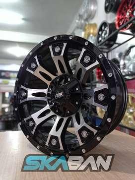 hsr wheel hage ring 17x9 h6(139,7) di ska ban pekanbaru