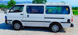 Hiace 98 Model 2015 Cotaa 2rz engine New Tyre 3 Slindar 18 seater.