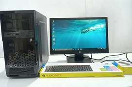 Office Use ~ Intel i5 Pro《8gb Ram 1tb Hdd》Fullset Pc & Service