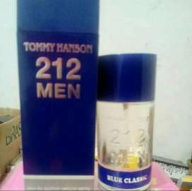Parfume 212 tommy hanson blue 100ml for men