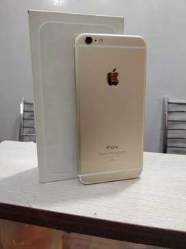 Apple iPhone 6 plus (64gb) brand new condition minner corner crack