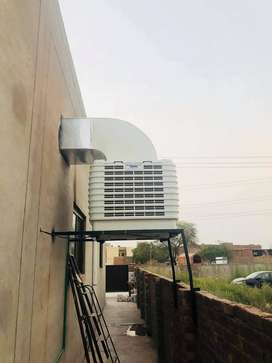 ChillCell Evaporative Air  Cooler ducting