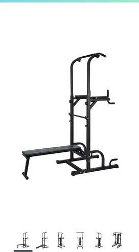 Multi function exercise station.