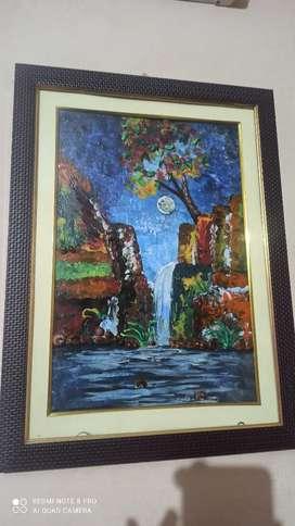 Acreylic handmade painting