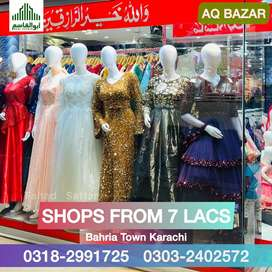 Shops at Low Prices in Precinct 18 Outlet Office Mall Flat Mall DHA AQ