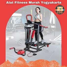 Alat Fitness Treadmill Manual 6 fungsi TL-004 AG bisa cod Sleman