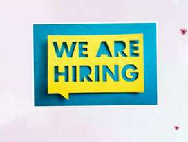 Female staff required urgently for our organization