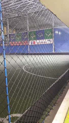 Jaring pagar futsal dan voli