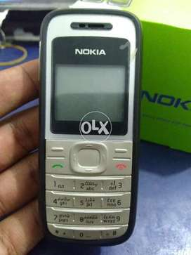 Nokia 1200 PTA Approved Original Phone Box Pack With Free Delivery