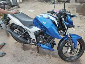 Apache rtr 160 4v in an absolute new condition