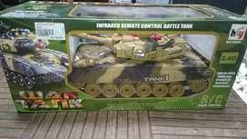 Mainan RC TANK WAR. Gede bisa cod