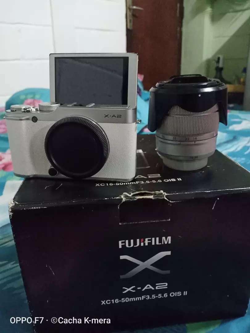 Kamera mirrorless FUJIFILM X-A2 fulset 0