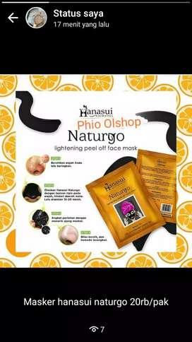 Masker Naturgo Hanasui / Masker Hanasui Naturgi