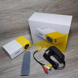 Proyektor Mini Seukuran Hp Sudah Multimedia Kompit Hdmi Pc Usb Dll